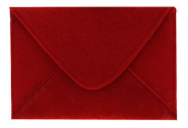 Filz Briefumschlag, rot