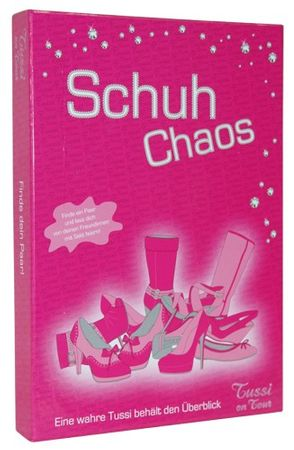 Tussi on Tour Spiel - Schuh Chaos
