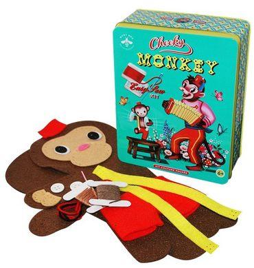 Cotton Candy Monkey Kit  - Kuscheltier Affe zum selber machen
