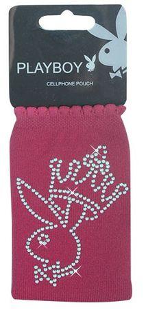 Playboy Handysocke Bunny mit Krone, pink – Bild 1