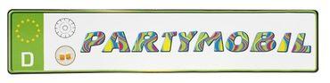 Autokennzeichen - Partymobil