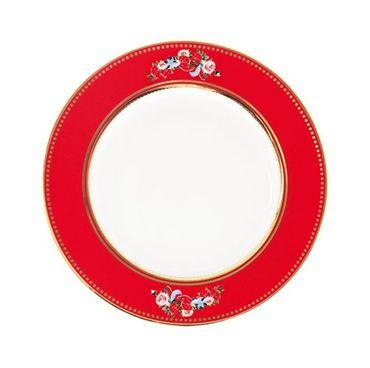 Cotton Candy Teller, rot 18 cm – Bild 1