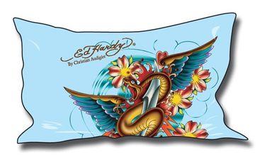 Ed Hardy Kissenbezug Snake & Wings 50 x 90 cm