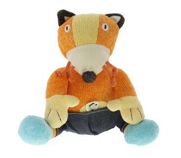 Nino & Ideas Spielzeug Fuchs mit Geräuschen
