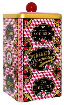 Cotton Candy Dreistöckige Aufbewahrungsdose Freakin Gorgeous – Bild 1