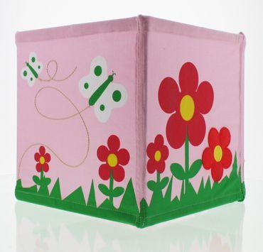 Nino & Ideas Lampenschirm Flower Garden rosa – Bild 1