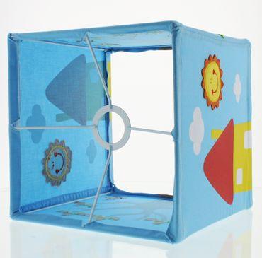 Nino & Ideas Lampenschirm Happy Home blau – Bild 2