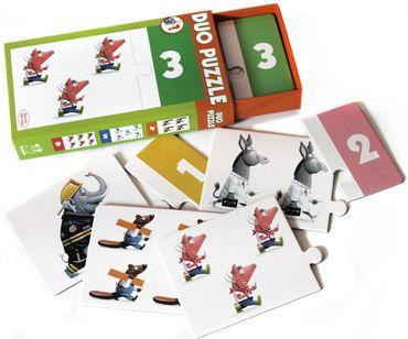 Kinderpuzzle Duo Puzzle Tiere