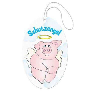 Duftanhänger Beschützerschwein mit Flügeln