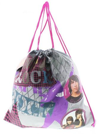 Disney Jutebeutel mit Aufdruck Camp Rock Turnbeutel Trainer Bag – Bild 2