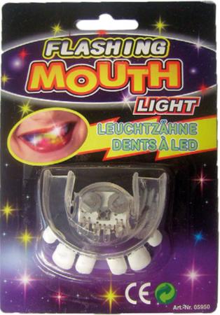 LED Leuchtzähne 3-fach sortiert