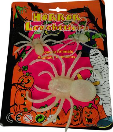Horror Leuchtspinnen 3er Set