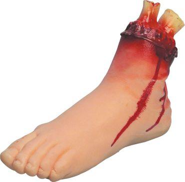 Blutender Fuß