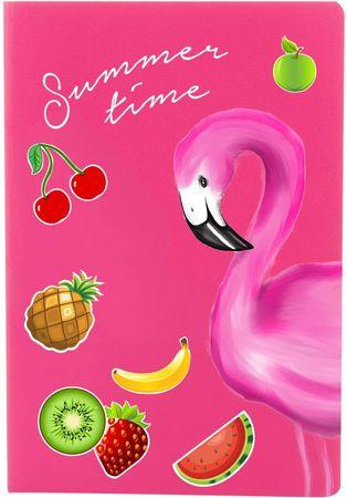 Schreibheft Flamingo Summertime