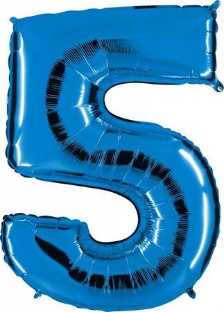 Folienzahl 5 blau
