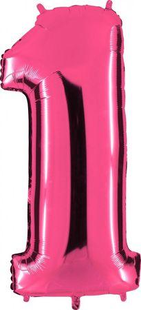 Folienzahl 1 pink