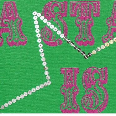 Little Diva Kissen A Star Is Born  45 x 45 cm, grün – Bild 2