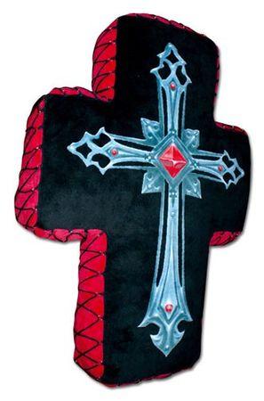 Spiral Kissen Fallen Angel Kreuz