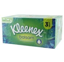 Kleenex Balsam Kosmetiktücher, 3x60 Tücher pro Box