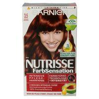 Garnier Nutrisse Creme Coloration 3.5  Kirschrot