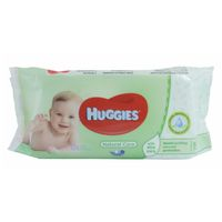 Huggies Natural Care feuchte Tücher mit Aloe Vera  56 Stk