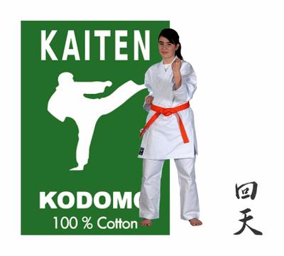 KAITEN Karateanzug KODOMO 9oz 140 Einsteiger-Gi