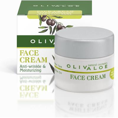 OLIVALOE 00144 - FACE CREAM (Oily to normal skin) Feuchtigkeitscreme 40ml