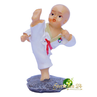 KAMPFSPORT KARATE FIGUR Fighter 002 - mae geri jodan