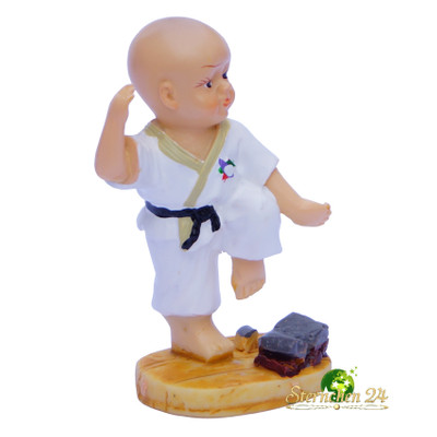 KAMPFSPORT KARATE FIGUR Fighter 005 - hiza geri, gedan barai Bild 2