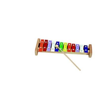 Kinderkram 5510072 - Glockenspiel 12 Stäbe