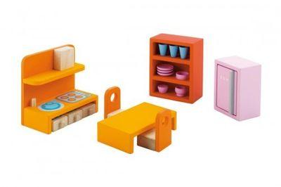 Sevi Küche | Sevi 82386 Kuchen Set Puppenhausmobel Spielwaren Puppenhaus