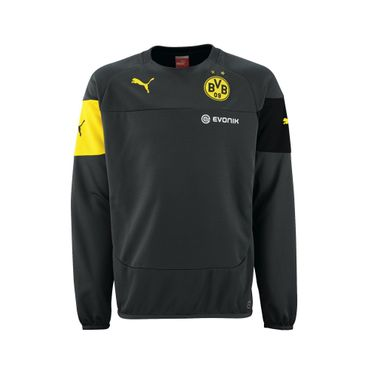 Puma BVB Borussia Dortmund Trainings Sweat Pullover Pulli 2014 / 2015 – Bild 3
