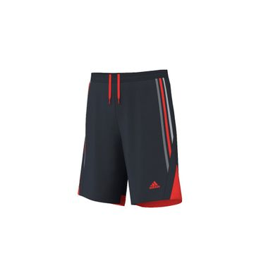 Adidas Never Stop Running Knit Short Schwarz