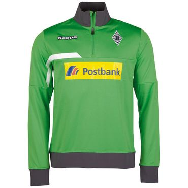 Kappa Borussia Mönchengladbach Trainings Sweat Troyer 2015/2016 – Bild 1