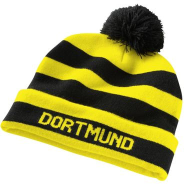 Puma BVB Borussia Dortmund Bommelmütze – Bild 1