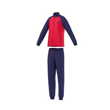 Adidas Mädchen Trainingsanzug Pink-Rosa-Schwarz – Bild 2