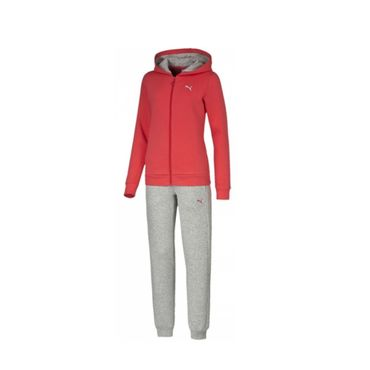Puma Fun Hooded Sweat Suit Mädchen Trainingsanzug – Bild 2