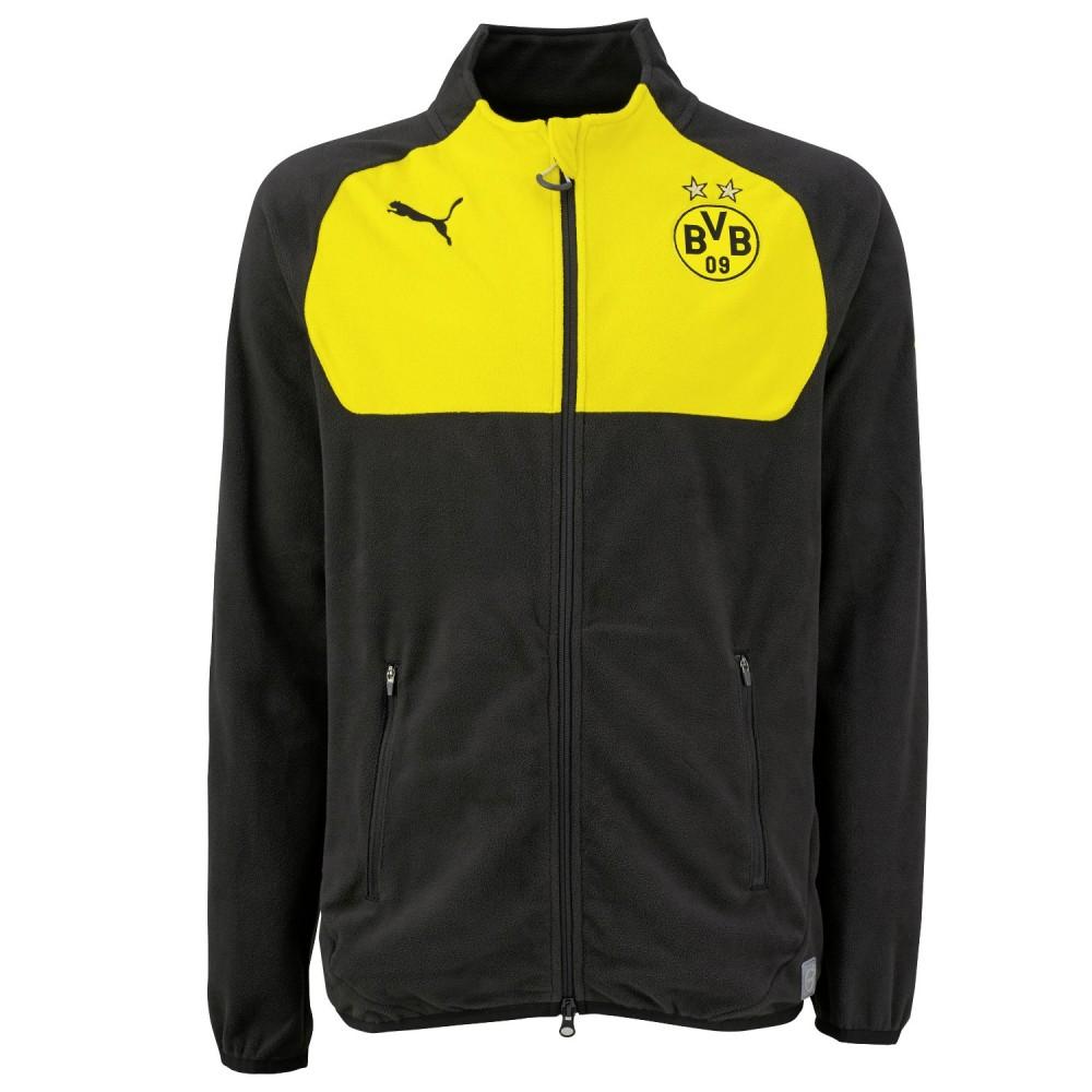 BVB Fanartikel Borussia Dortmund Herren Fleecejacke von Puma