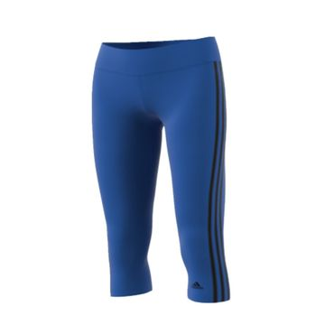 adidas D2M 3S Damen 3/4 Fitness Tight – Bild 3