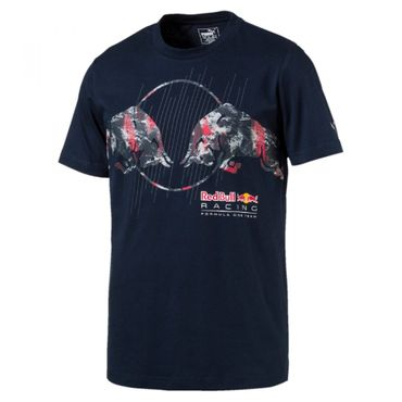 Puma Red Bull RBR F1 Graphic Tee Shirt 2017