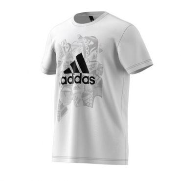 adidas Herren Badge of Sports T-Shirt  – Bild 3
