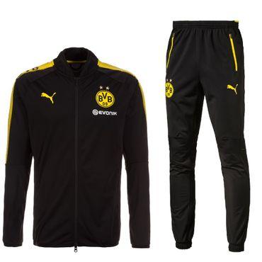 BVB Borussia Dortmund Trainingsanzug 2017-2018 Puma Herren – Bild 1