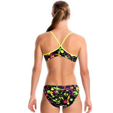 Funkita Mädchen Bikini Splatter Attack Two Piece – Bild 3