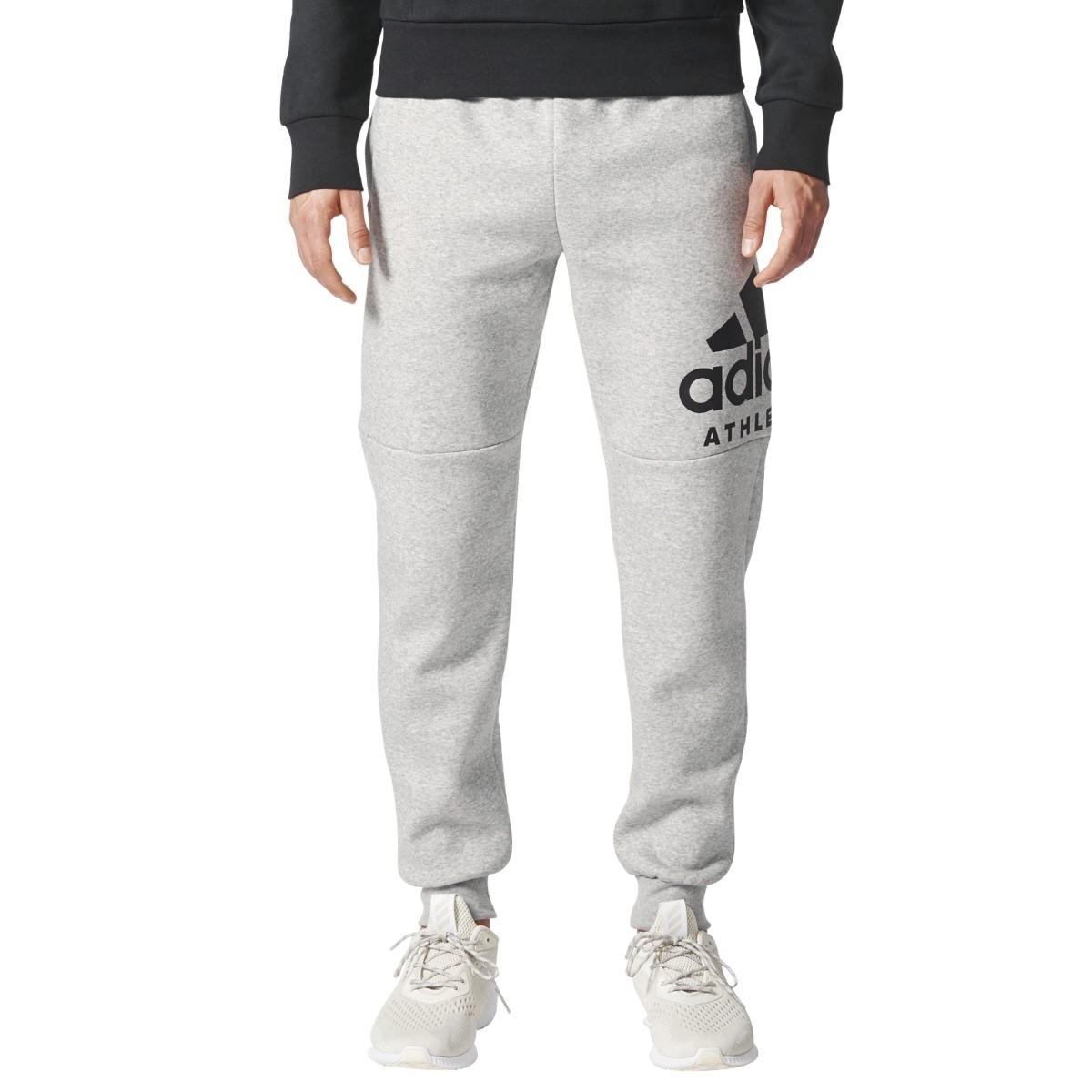 Schwarz Id Pant Fleece Tapered Sport Branded Adidas Sporthose gw5C0qFF