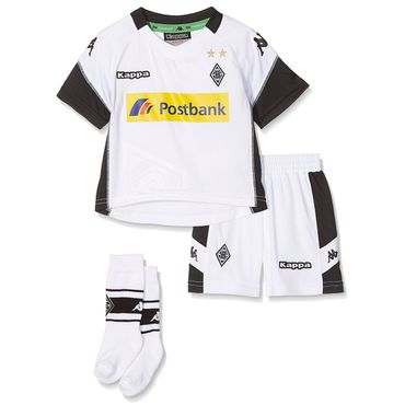 Kappa Kinder Bmg Home Tricot Set Mini Trikot
