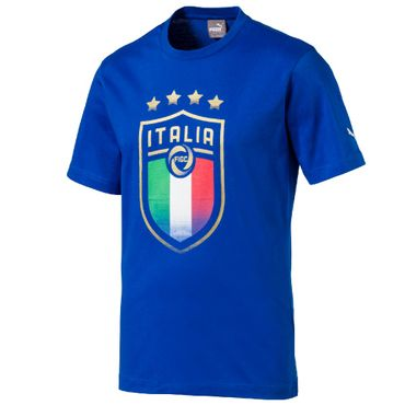 Puma Italien Badge Fan Tee WM 2018 – Bild 1