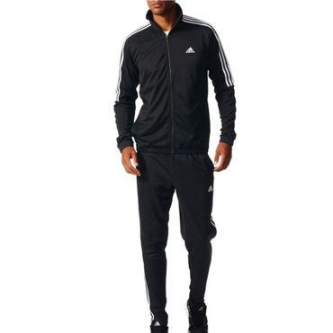 adidas 3 Streifen Herren Trainingsanzug Tiro TS – Bild 2