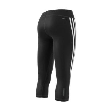 adidas 3 Streifen D2M Damen 3/4 Fitness Sport Tight Hose – Bild 2