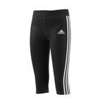 adidas 3 Streifen D2M Damen 3/4 Fitness Sport Tight Hose