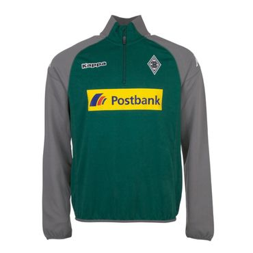 Kappa Borussia Mönchengladbach Trainings Sweat Troyer 2017/2018 – Bild 1